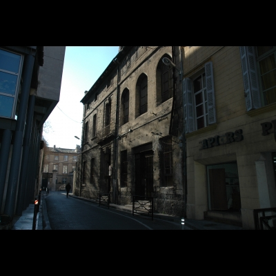 Façade de l'Ecole d'Avignon Maison du Roi René 6 rue Grivolas, 84000 AVIGNON
