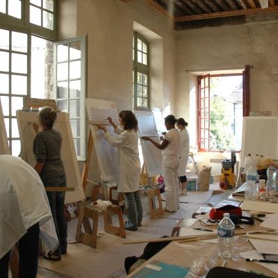 Cours de peinture décorative, Peintres en Décor du Patrimoine.