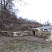 mur en pierre sèche