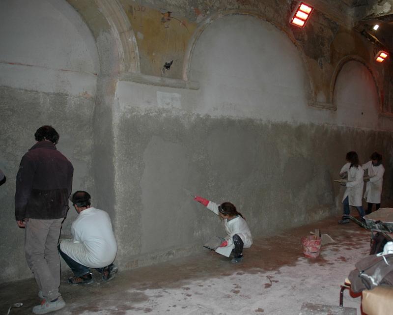 Enduit et peinture la chaux enduits et peinture la - Ecole de decoration avignon ...