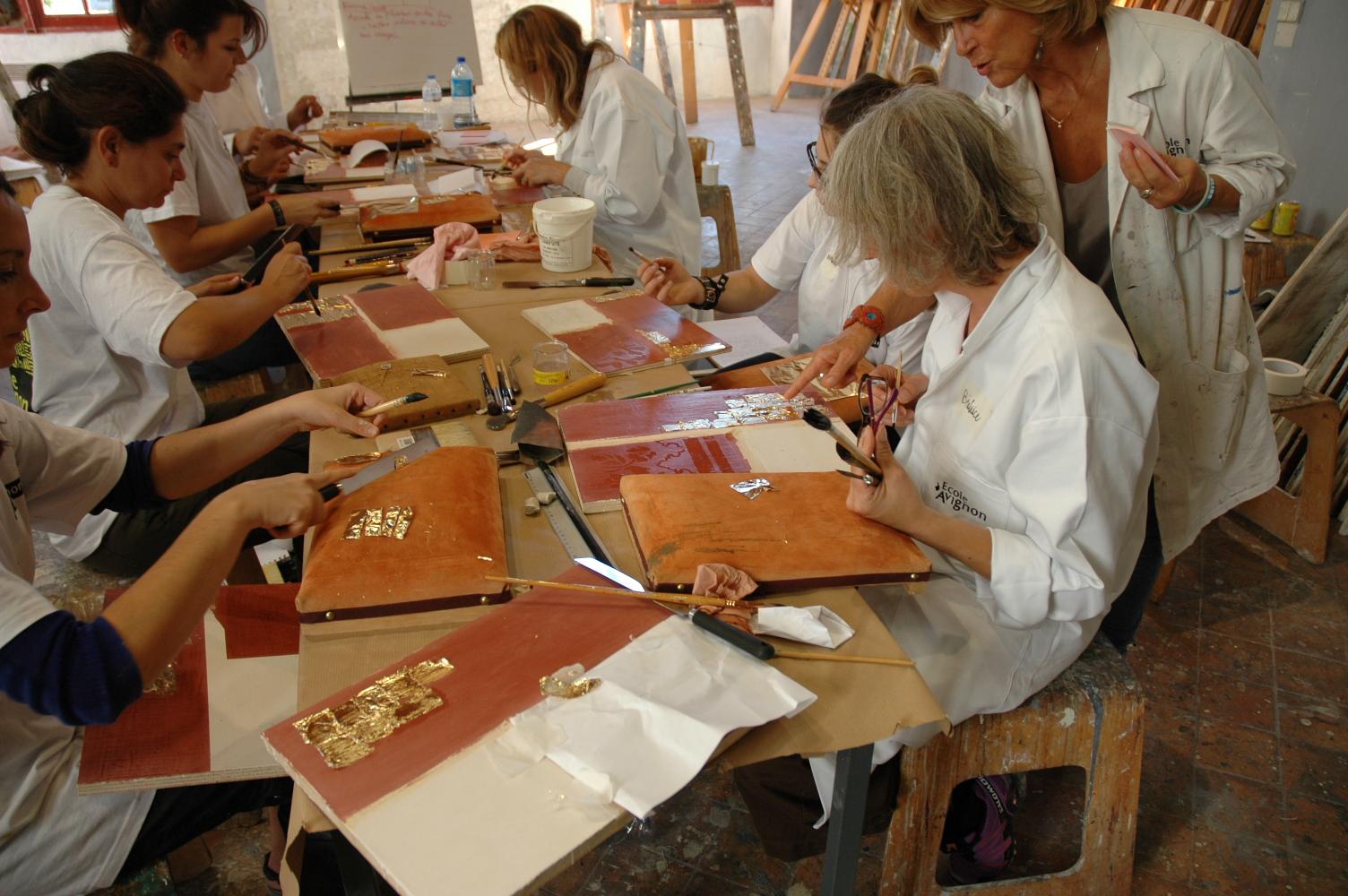 Actualit s peintre en d cor du patrimoine rentree - Ecole de decoration avignon ...