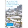 Le patrimoine : un modèle de développement durable