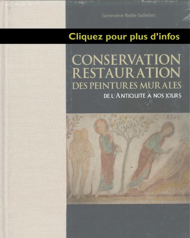 Conservation Restauration Des Peintures Muraleslivres