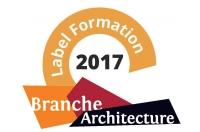 Label Formation 2017 de la Branche des entreprises d'architecture