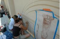 Création d'un décor à Villeneuve Lez Avignon