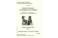 Chants de Provence, de Sardaigne et de Catalogne