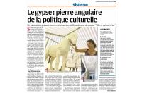 Le gypse : pierre angulaire de la politique culturelle
